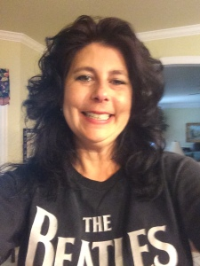me in beatles shirt