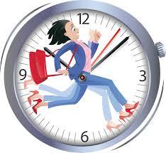 time running girl