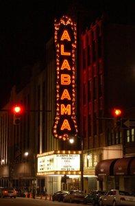 al theatre sign