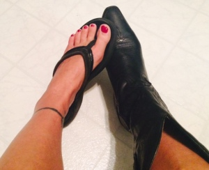 flip flop boot