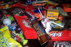 1 halloween candy