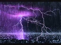 lightning rain
