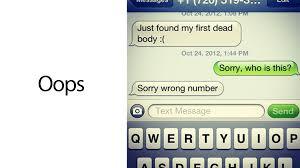 dead body text