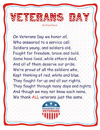 veterans day poem