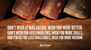 i wish better