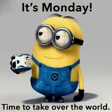 minion monday take over world