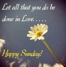 do in love sunday