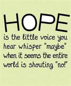 hope voice maybe when no