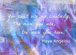creativity m angelou