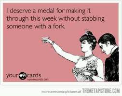 deserve a medal friday