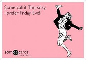 thrs is friday eve