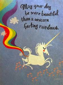 unicorns rainbow farts